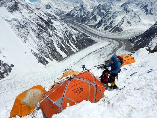 Obóz wyprawy PHZ na K2 (fot. PHZ)