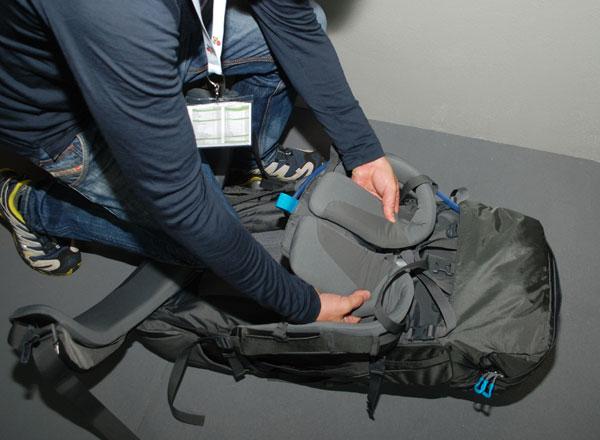 System nośny w plecakach Thule (fot. Outdoor Magazyn)