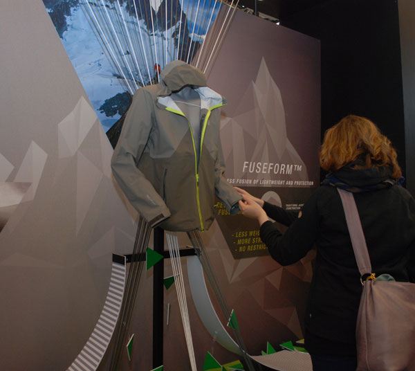 The North Face, kurtka Fuse Form (fot. Outdoor Magazyn)
