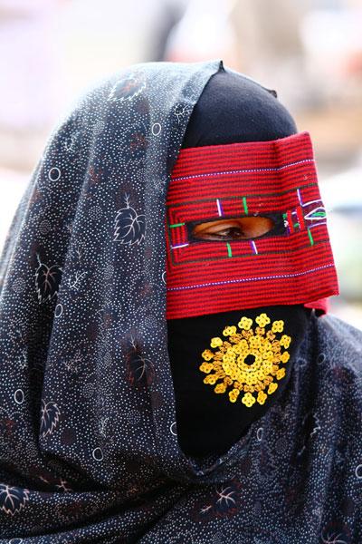 Irańska kobieta (fot. Łukasz Supergan)