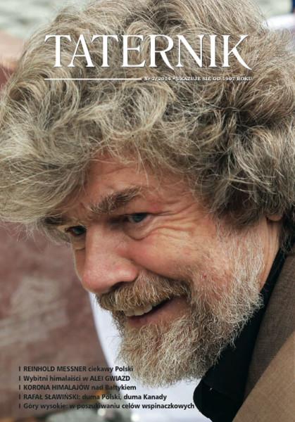 Reinhold Messner w czerwcu we Władysławowie.  Fot. Wojciech Święcicki