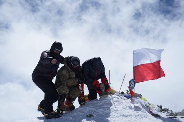 Na szczycie (fot. arch. Szczepan Niemiec)