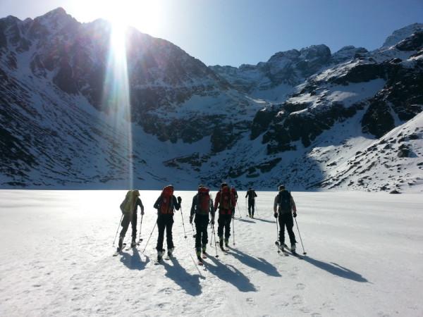 Narciarstwo wysokogórskie w Tatrach (fot. Monika Strojny)