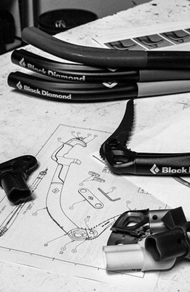 Projektowanie czekanów (fot. Black Diamond Equipment)