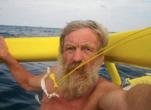 Olek Doba podczas wyprawy (fot. Olek Doba)