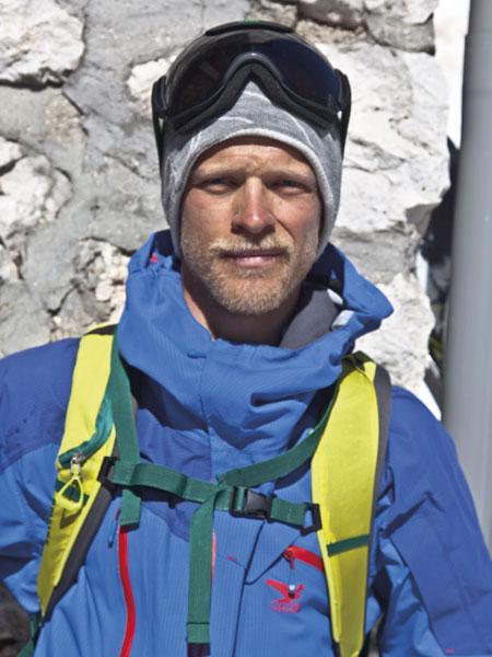 Björn Heregger (fot. arch. SALEWA)