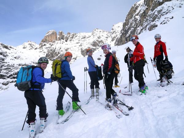 Int. Jugendcamp 2014 Lienz _ Gemeinsame Skitour 4 _ Bild Alex Lugger _ L...
