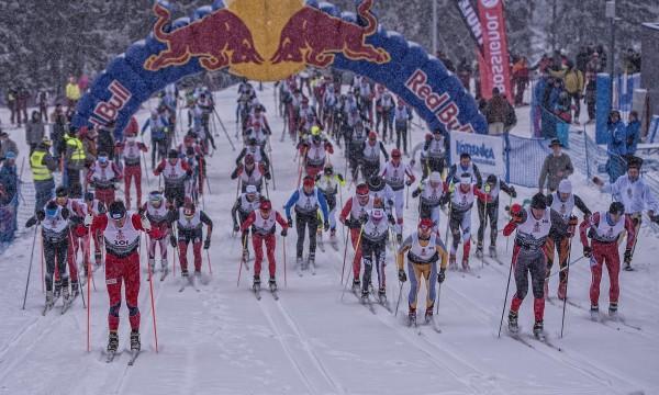 Red Bull Bieg Zbójników - start (fot. Łukasz Nazdraczew)