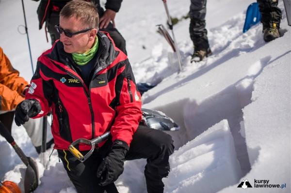 Test stabilności pokrywy śnieżnej