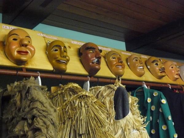 Karnawałowe maski z Cerkno laufarija (fot. Outdoor Magazyn)