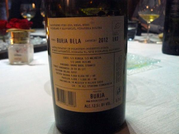 Wino o godnej nazwie - Burja