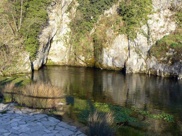 Źródło rzeki Vipava w miasteczku Vipava (fot. Outdoor Magazyn)