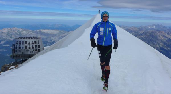 Czasowka na Mont Blanc (fot. Łukasz Polaczyk)