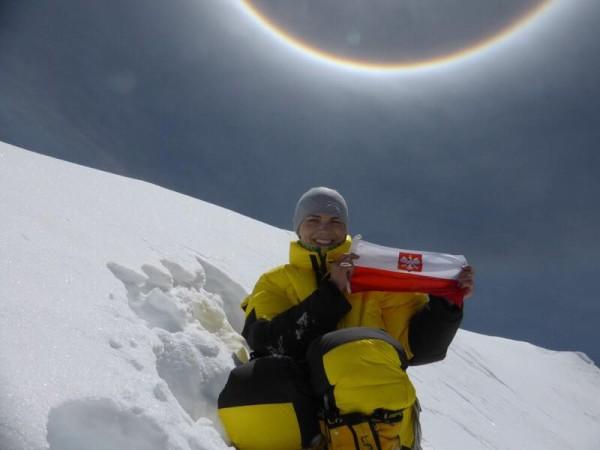 Kinga Baranowska na Gasherbrumie II (fot. arch. Kinga Baranowska)