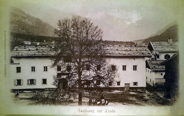 Landgasthof & Hotel Linde w XIX wieku (fot. outdoormagazyn.pl)