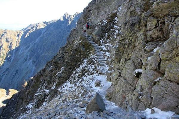 Trudne warunki w Tatrach (fot. Bogusława Chlipała)