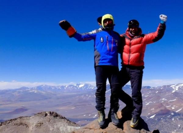 Alex Txikon i Daniele Nardi na Incahuasi (6638 m)