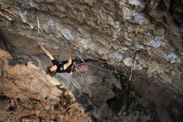 "Martin Krpan - pierwsze polskie 9a; Osp 2009 (fot. Mariusz ""Butcher"" Majer/climb.pl)"