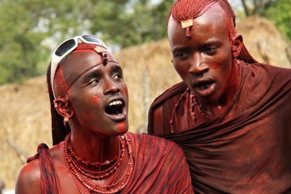 Masajowie (fot. Elżbieta Wiejaczka)