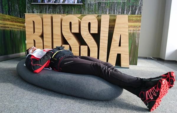 Chwila skupienia przed startem (fot. Wojciech Grzesiok)