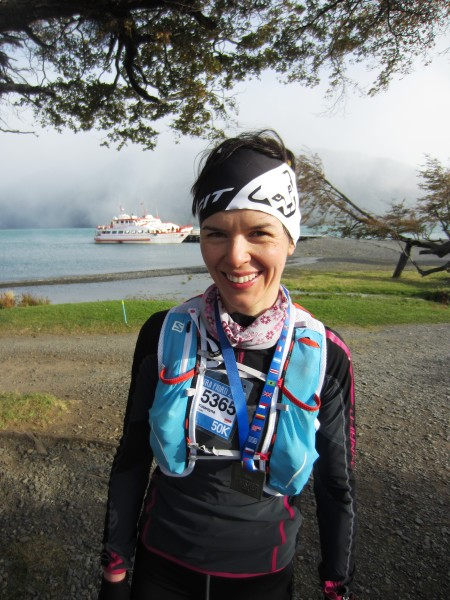 Kasia Zając w biegu Ultra Fiord w południowym Chile (fot. Piotr Kosmala)