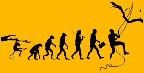 Ewolucja w wersji arborystycznej (fot. www.toarborist.com)