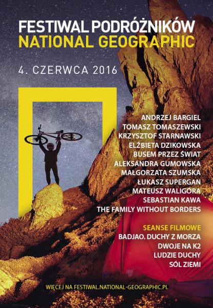 Festiwal Podróżników_plakat