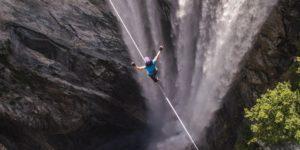 Mia Noblet ustanawia kobiecy rekord highline!