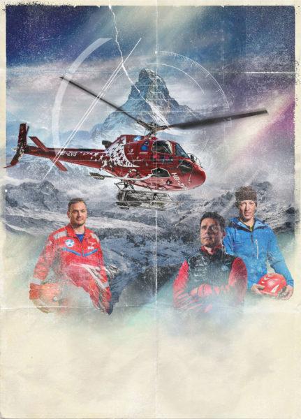 The Horn, Air Zermatt, Red Bull Content Pool
