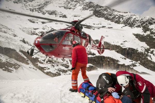 The Horn, Air Zermatt Team (fot. Scott Gardner / Red Bull Content Pool)
