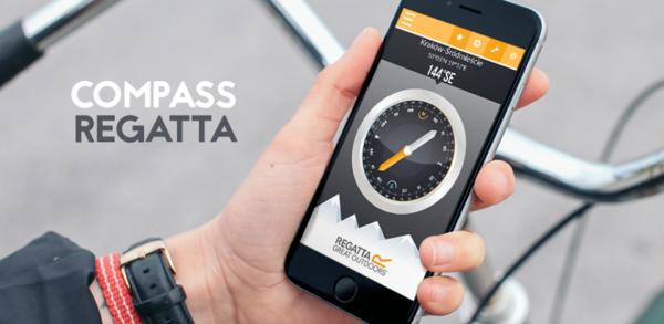 Aplikacja mobilna - Regatta Compass