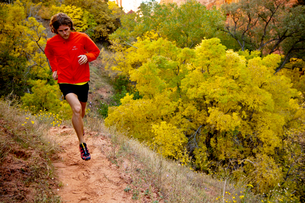 Kurtka do biegania trailowego ma być przede wszystkim wiatroszczelna (fot. Arc'teryx)