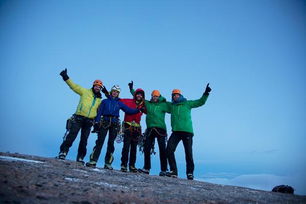 Wyprawa na Ziemię Baffina: zespół (fot. adidas Outdoor)