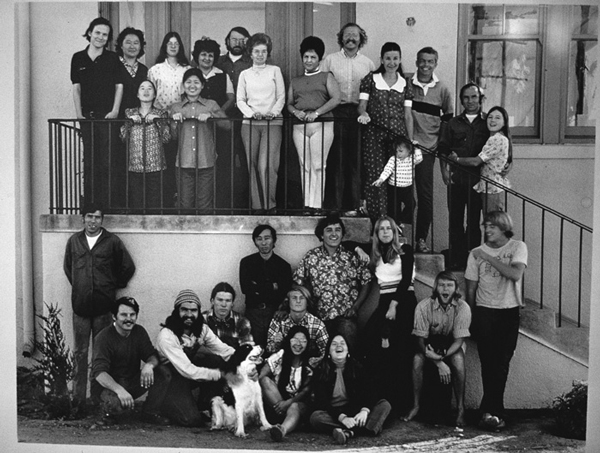 Pracownicy Patagonii w 1974 roku (fot. Patagonia)