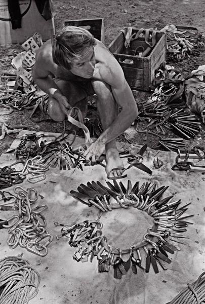 Yvon Chouinard w 1969 roku w Yosemite (fot. Patagonia)