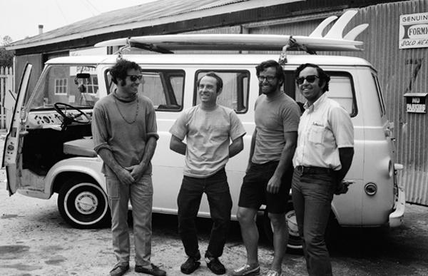 Doug Tompkins, Yvon Chouinard, Dick Dorworth oraz Lito Tejada-Flores podczas swojej wyprawy w 1968 roku (fot. Patagonia)