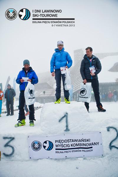 I Dni Lawinowo Ski-tourowe w Dolinie Pięciu Stawów - zwycięzcy (fot. Marcin Kin)