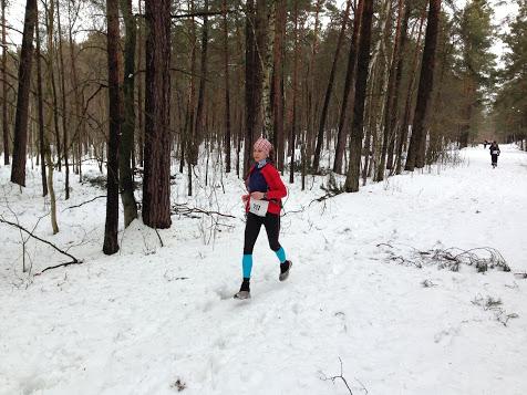 Na zimowej trasie Biegu Łosia 2013 (fot. Piotr Krawczyk)