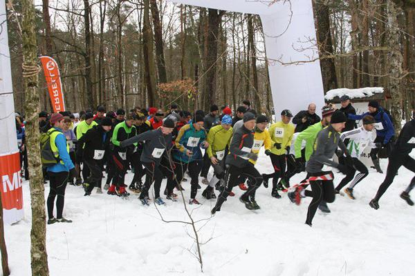 Start Biegu Łosia (fot. Ekobiegi)