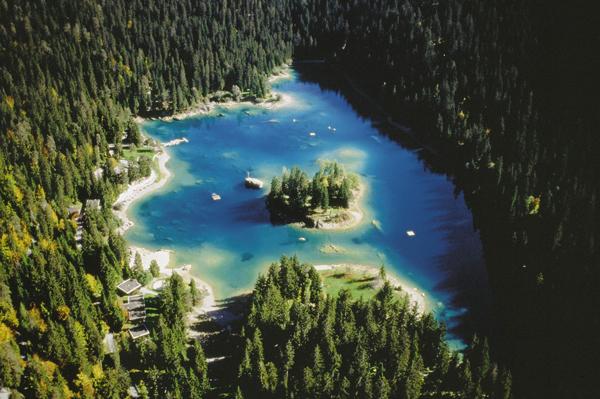 Piękne krajobrazy będą towarzyszyć wszystkim fanom outdooru (fot. Region  Graubünden)