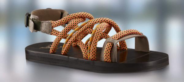 Louis Vuitton, sandały z liny Beal Stinger
