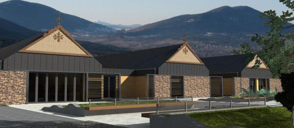 Projekt Centrum Górskiego Korona Ziemi w Zawoi