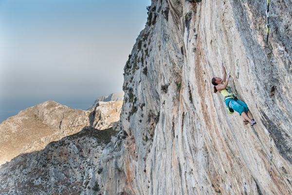 Caroline Ciavaldini na The North Face Kalymnos Climbing Festival (fot. The North Face/ Damiano Levati)