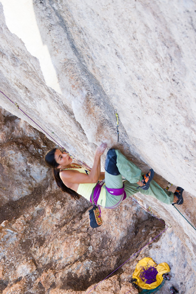 Daila Ojeda na The North Face Kalymnos Climbing Festival  (fot. The North Face® /Chris Boukoros)