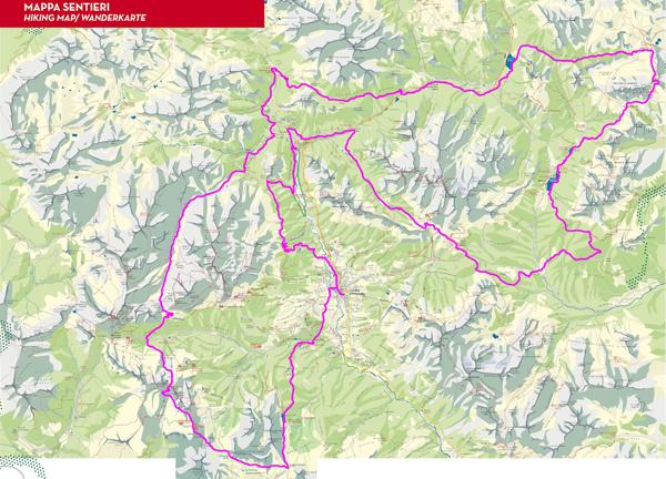 Laveradi Ultra Trail - mapa