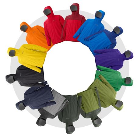 Marmot, kolory męskiego modelu kurtki PreCip