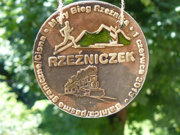 Medal ukończenia II Rzeźniczka (fot. Outdoor Magazyn)