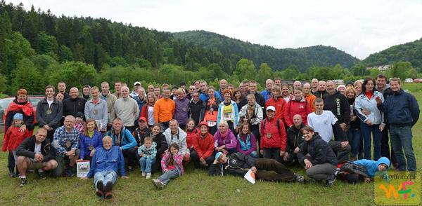 Grupowe zdjęcie uczestników II Rzeźniczka wraz z organizatorami (fot. Wasylfoto.pl)