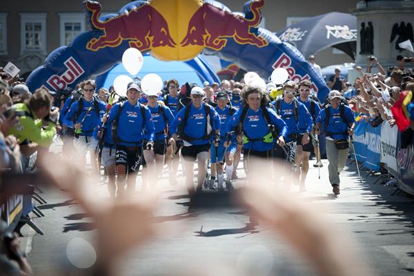 Start Red Bull X-Alps (fot. Red Bull)
