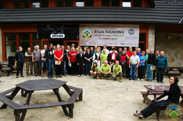 Członkowie Rady Naukowej Centrum Górskiego Korona Ziemi (fot. Centrum Górskie Korona Ziemi)